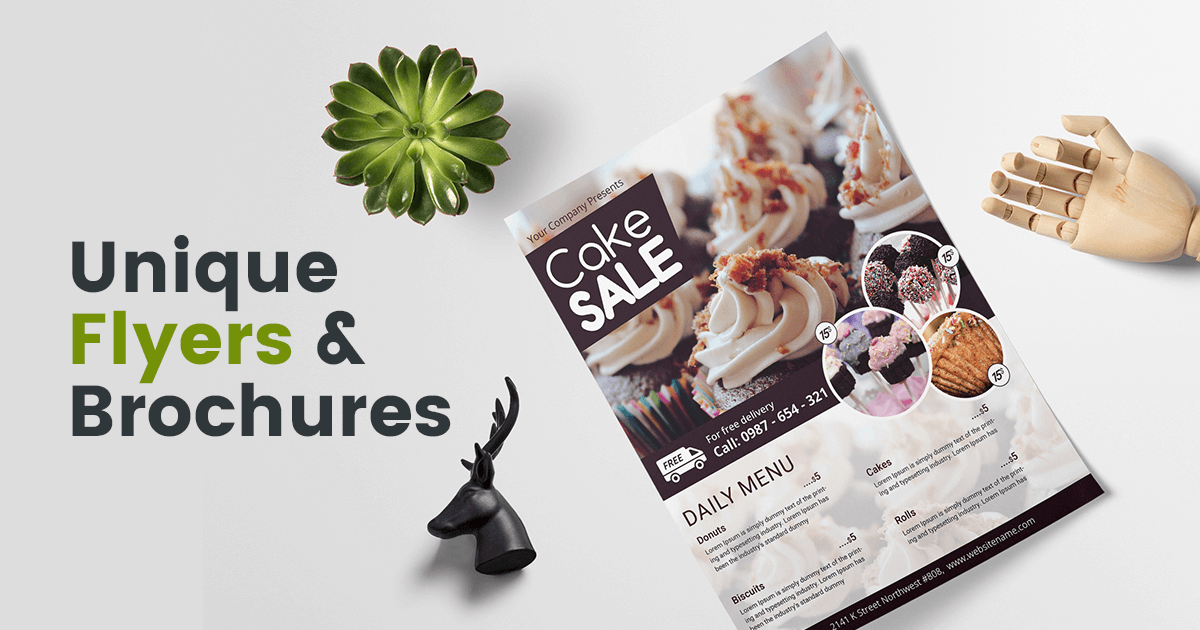 2018 s best selling flyer brochure templates with creative designs